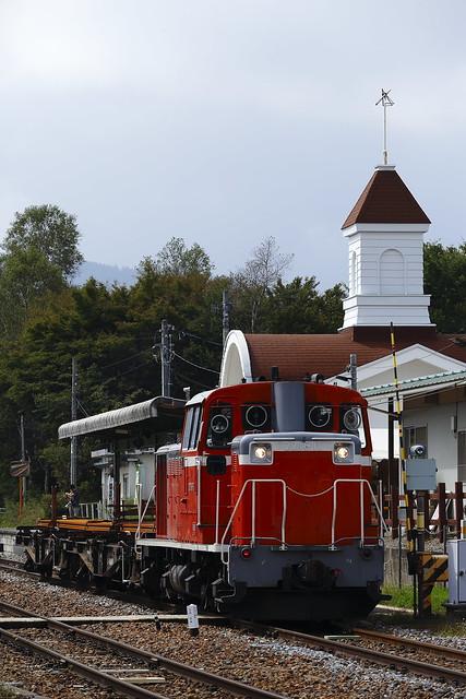 DD16-11 Rail transportation train at Nobeyama Sta.