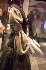 Sleeve detail, Packing dress