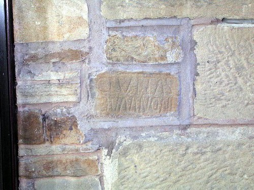 Building inscription at Holmhead
