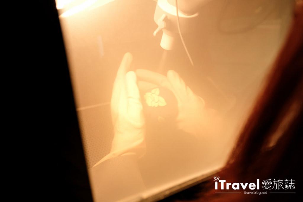 东京手作课程 喷砂玻璃工艺体验 34