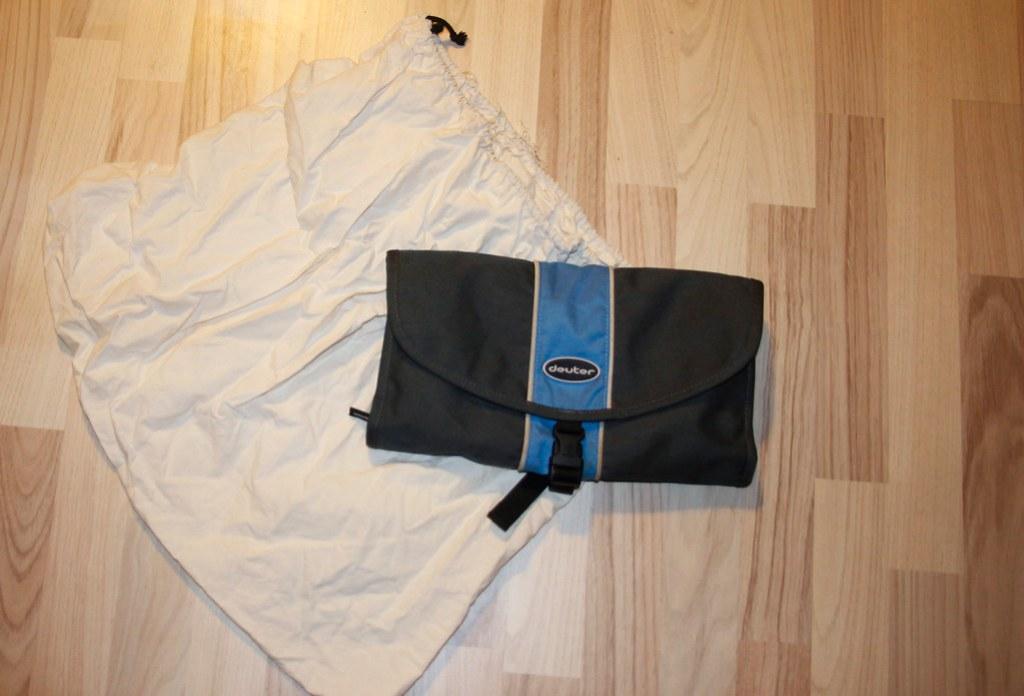 vaskepose og den bedste toilettaske til backpackere