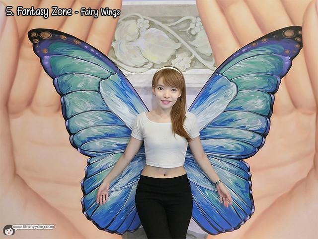 Trick Eye Museum Singapore Fairy Wings