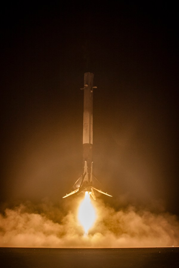 The Most Amazing Photos from SpaceX's Historic Rocket Landing