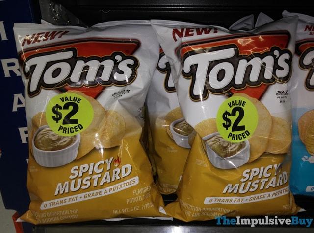 Tom's Spicy Mustard Potato Chips