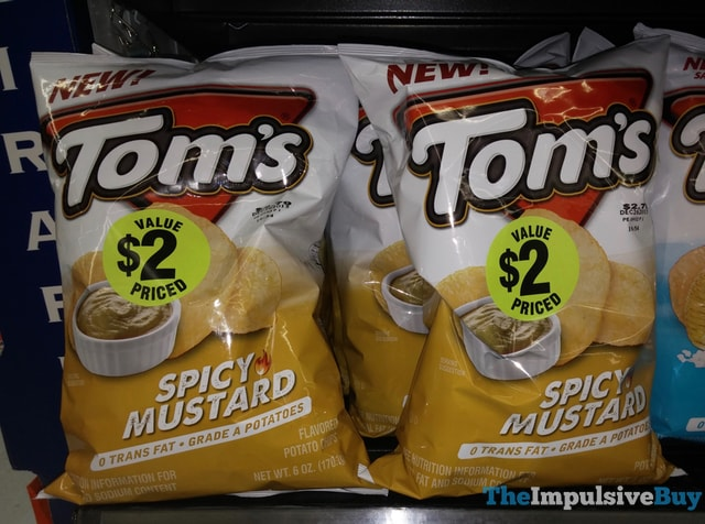 Tom's Spicy Mustard Potato Chips