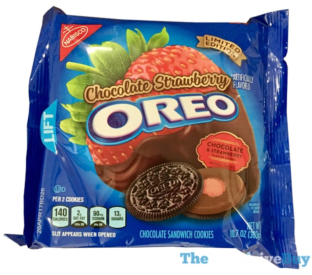 Limited Edition Chocolate Strawberry Oreo Cookies