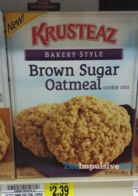 Krusteaz Bakery Style Brown Sugar Oatmeal Cookie Mix