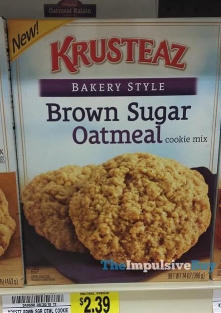 Krusteaz Bakery Style Brown Sugar Oatmeal Cookie Mix