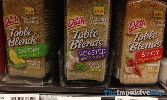 Mrs Dash Table Blends