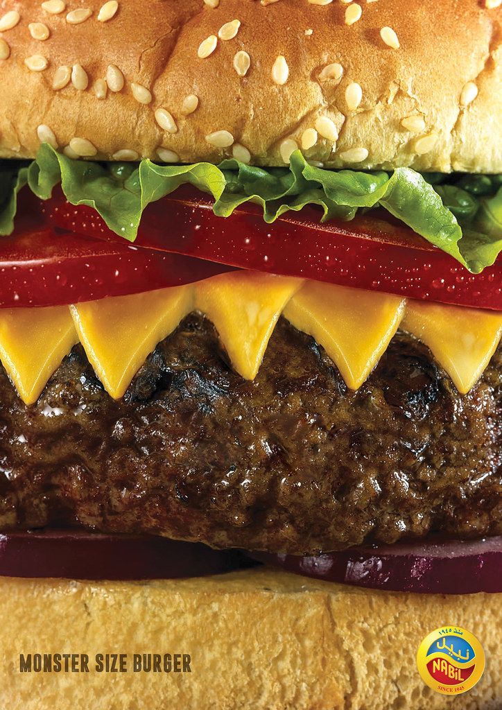 Nabil Food Products - Monster Size Burger
