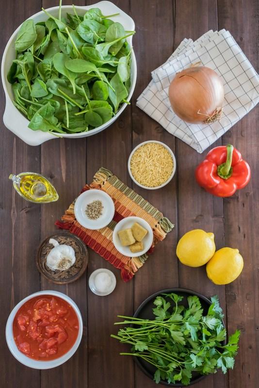 bright, fresh ingredients