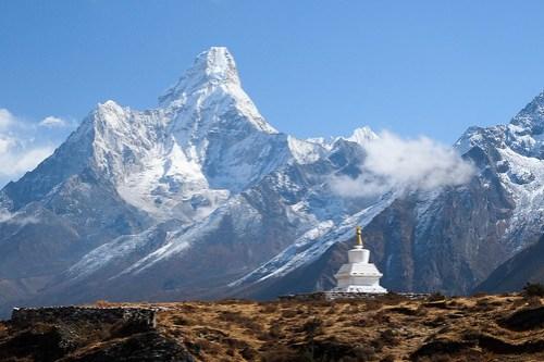 Stupa near Khumjung