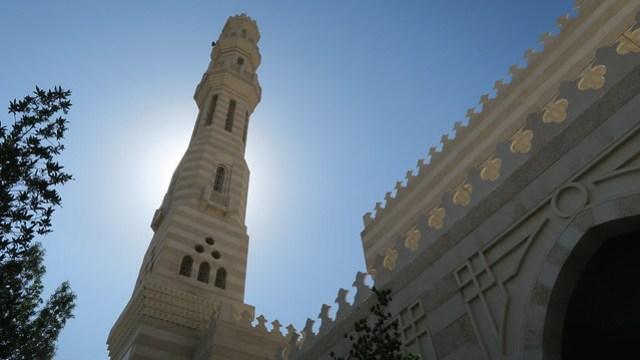 al ain mosque in city