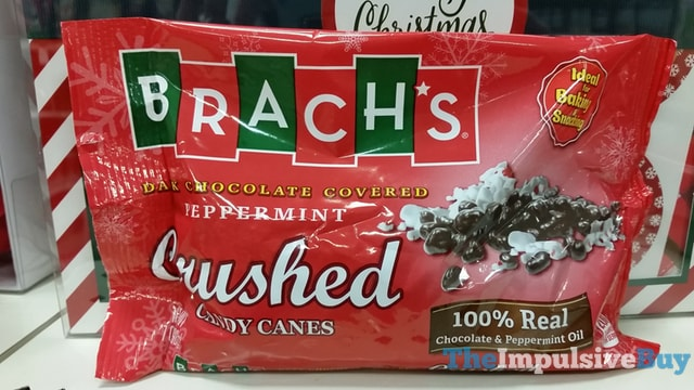 Brach's Dark Chocolate Covered Peppermint Crushed Candy Canes