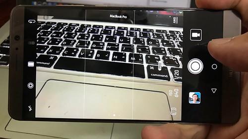 User Interface กล้อง Huawei Mate 9