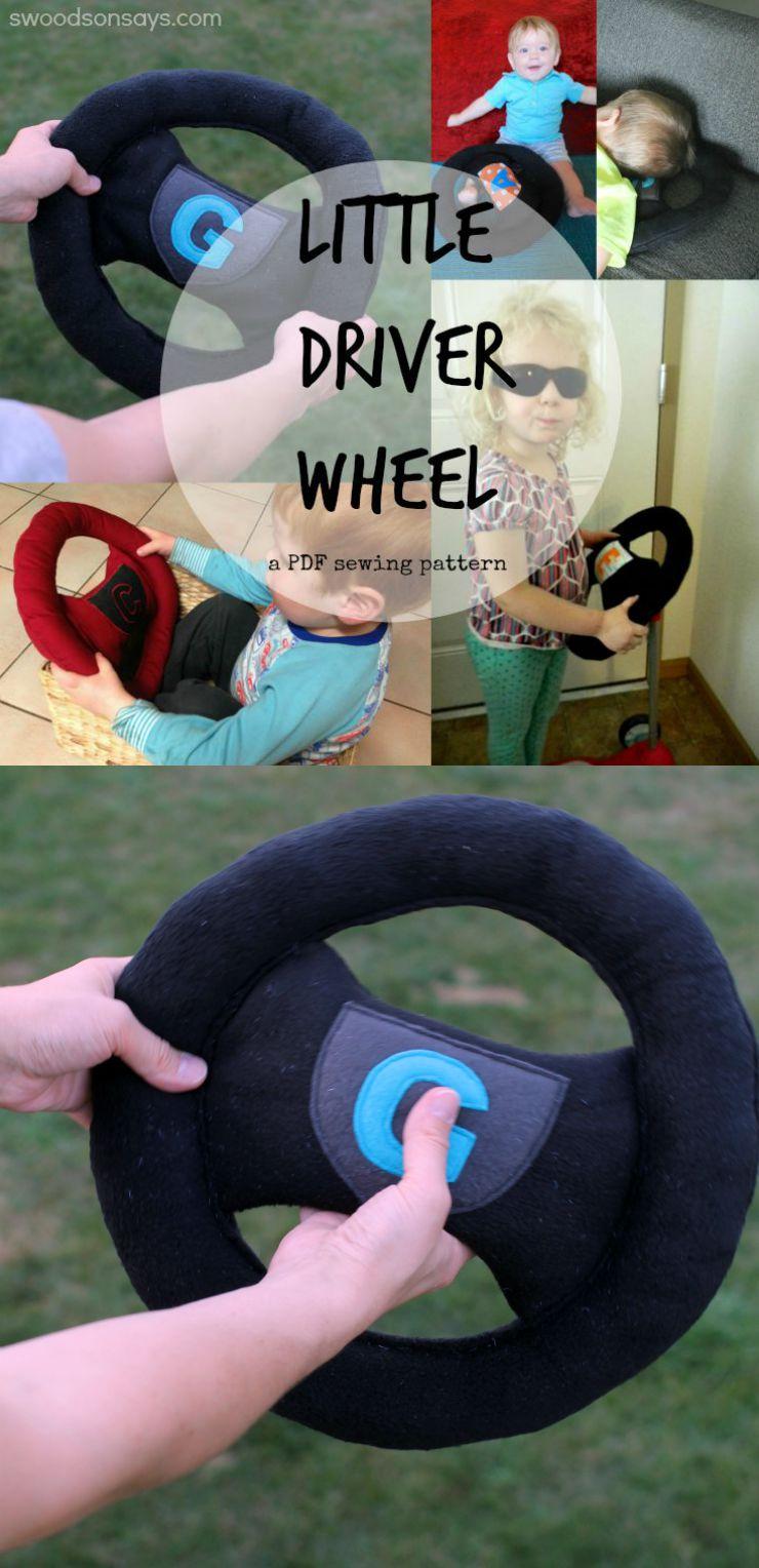 Little Driver Wheel - Swoodson Says Pattern