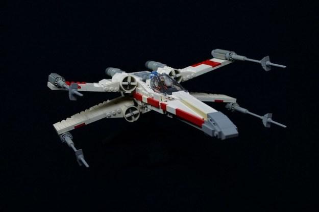 Mike Psiaki X-wing (75102 refit)