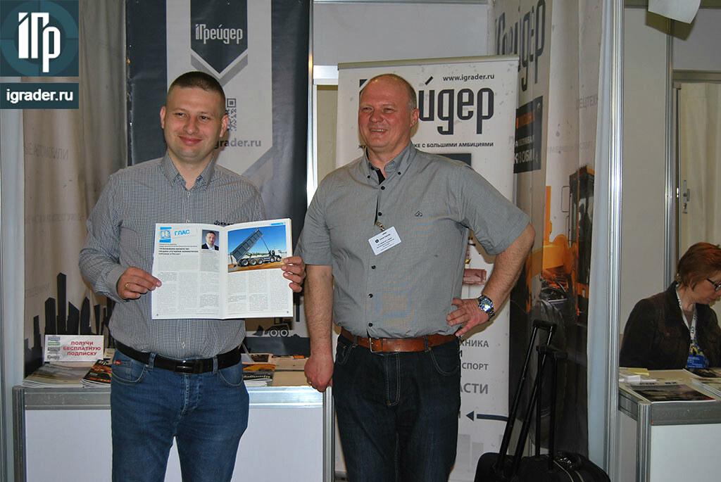 Коммерческий директор KH-kipper Лукаш Карчевски приехал из Польши и лично посетил информационного партнера