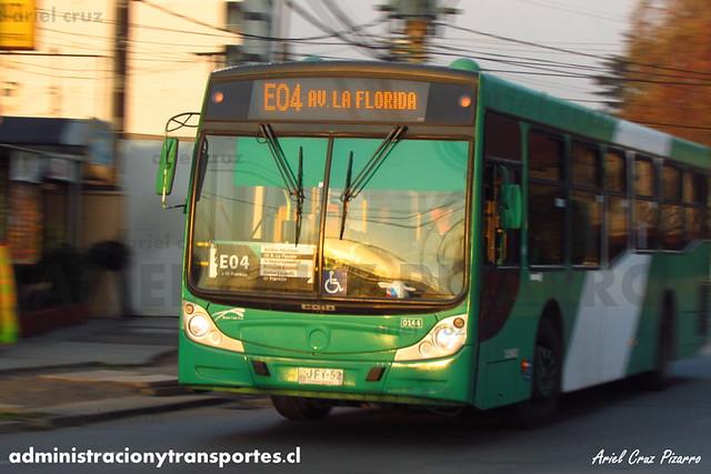 Transantiago - Buses Vule - Caio Mondego H / Mercedes Benz (BJFT52) (144)