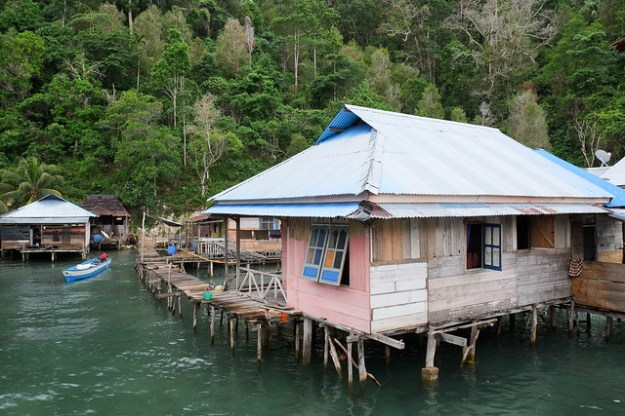 Stilt village of Sawai