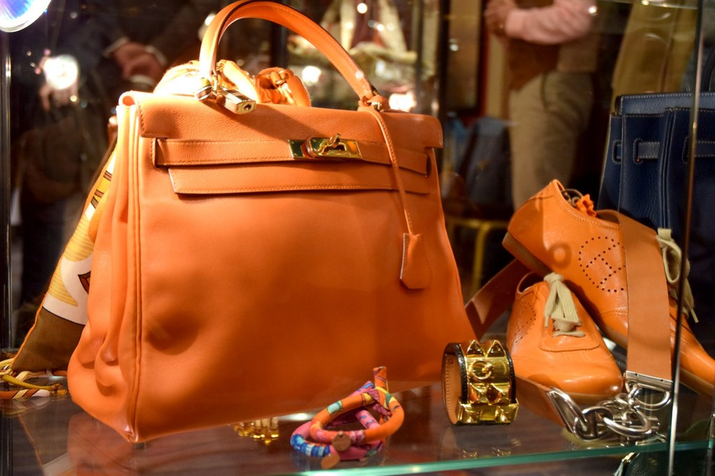 Hermès Kelly orange