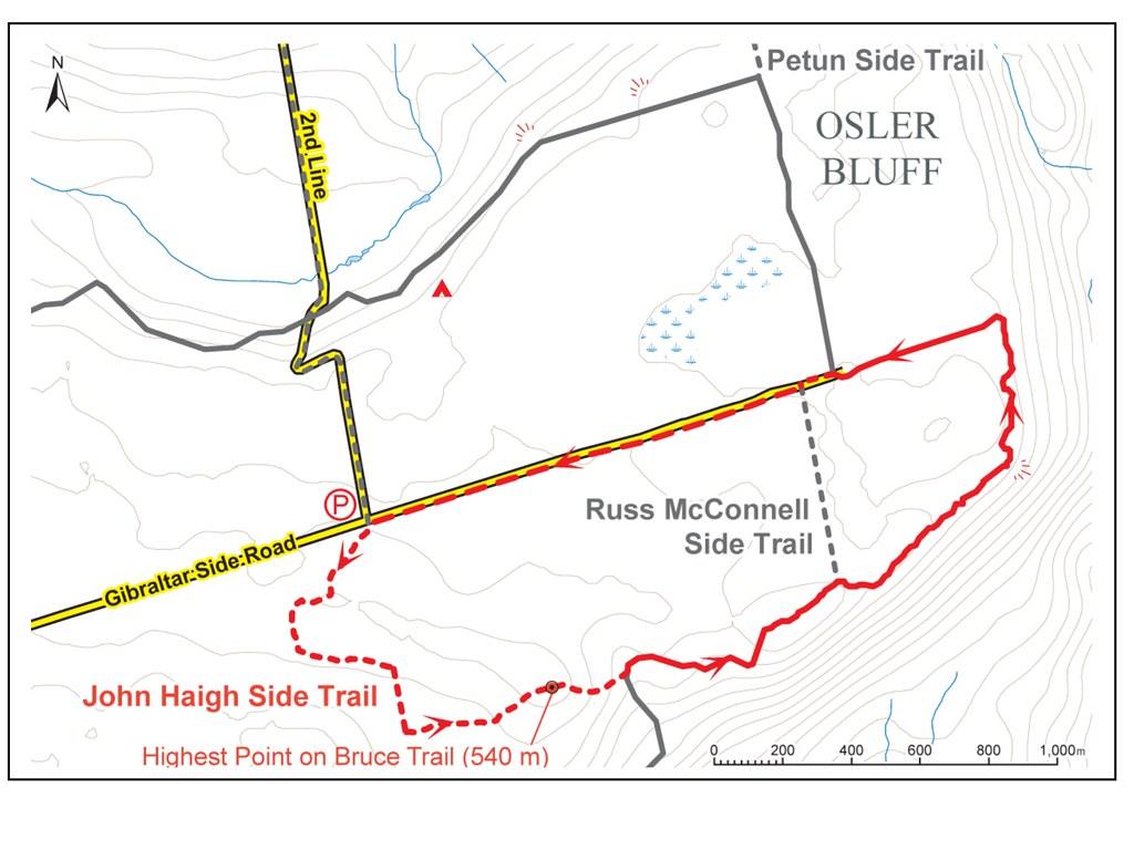 Pretty River Bruce Trail