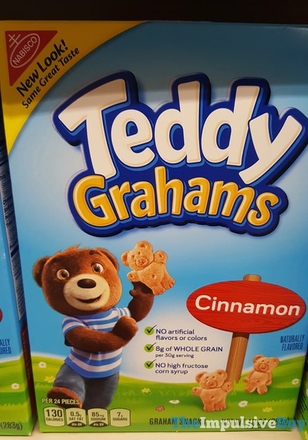 Teddy Grahams Cinnamon (2016 Design)