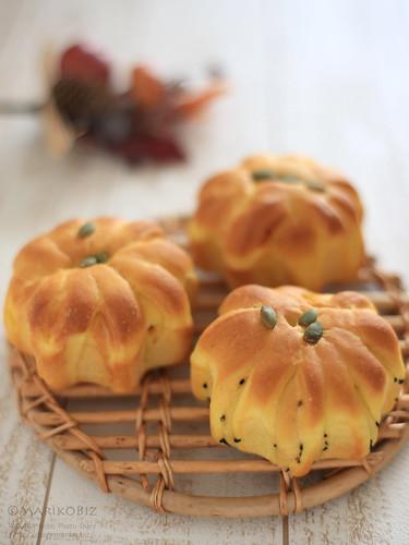 かぼちゃパン 20151024-IMG_9881