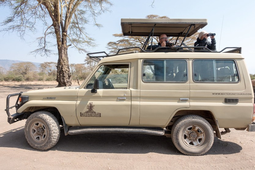 Our trusty safari vehicle