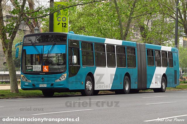 Transantiago - Metbus - Caio Mondego HA / Mercedes Benz (BJFB33)