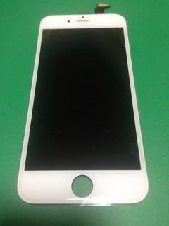 iPhone6のフロントパネル白