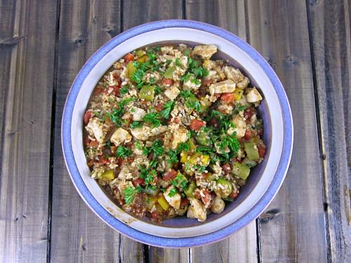Cajun Chicken and Quinoa Skillet