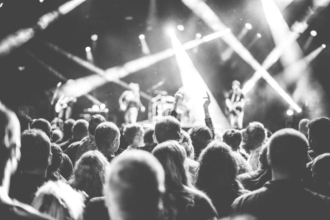 Imagen gratis de un concierto