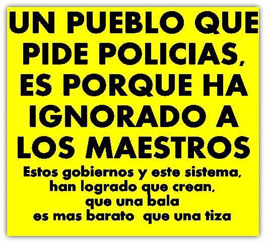 Policía & Maestro, La Tiza & La Bala
