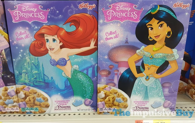 SPOTTED ON SHELVES: Kellogg's Disney Princess Cereals