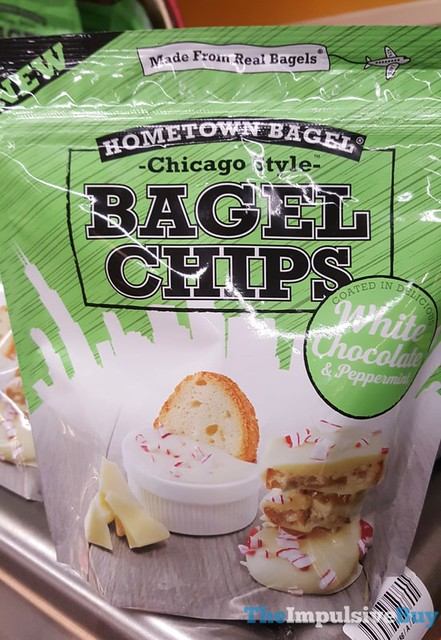 Hometown Bagel White Chocolate & Peppermint Bagel Chips