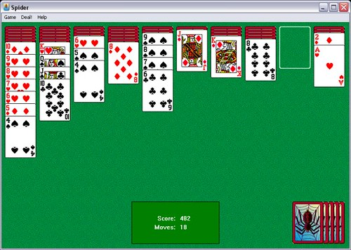 Spider Solitaire In Progress Flickr Photo Sharing