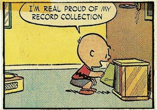 I'm Real Proud of my Record Collection