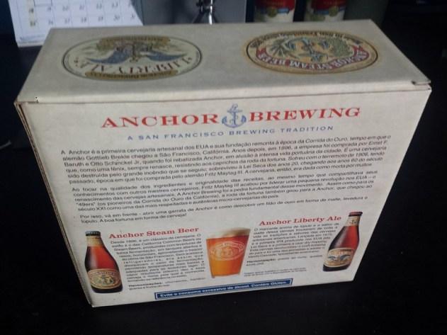 Verso do Kit Anchor Brewing