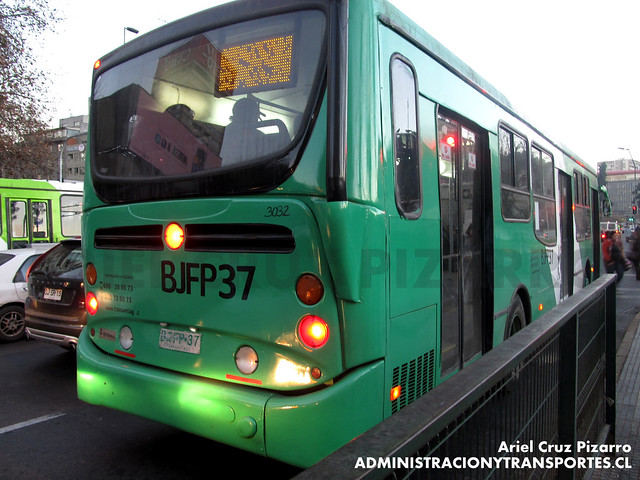 Transantiago - Buses Vule - Busscar Urbanuss Pluss - Mercedes Benz (BJFP37)