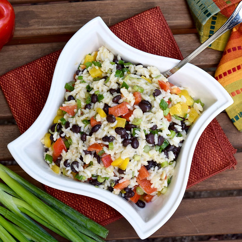 caribbean black bean salad
