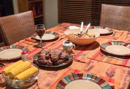 Dinner at Danie's