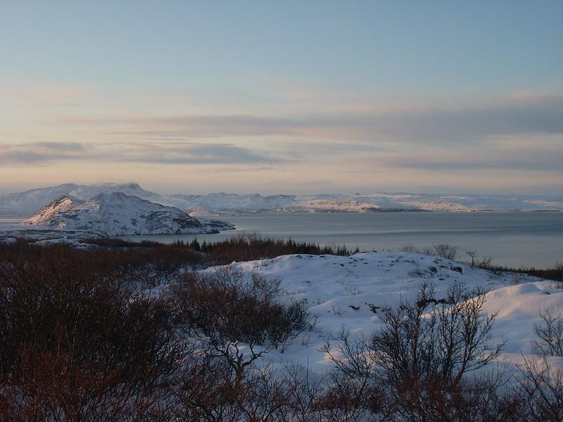 Lago Pingevill, Islandia