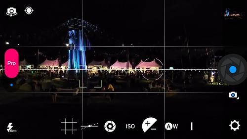 User Interface กล้องของ ZTE Blade S7