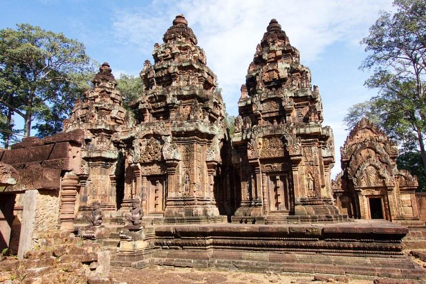 Banteay Srey, Cambodia.