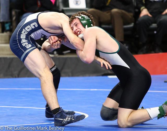 160 - Tyler Ryan (Kenyon-Wanamingo) over Tyler Soltau (Zumbrota-Mazeppa) Dec 6-3