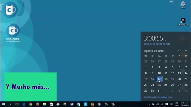 Error de fecha en Windows 10