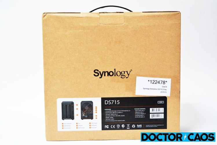 Synology Diskstation DS715 servidor NAS (2)