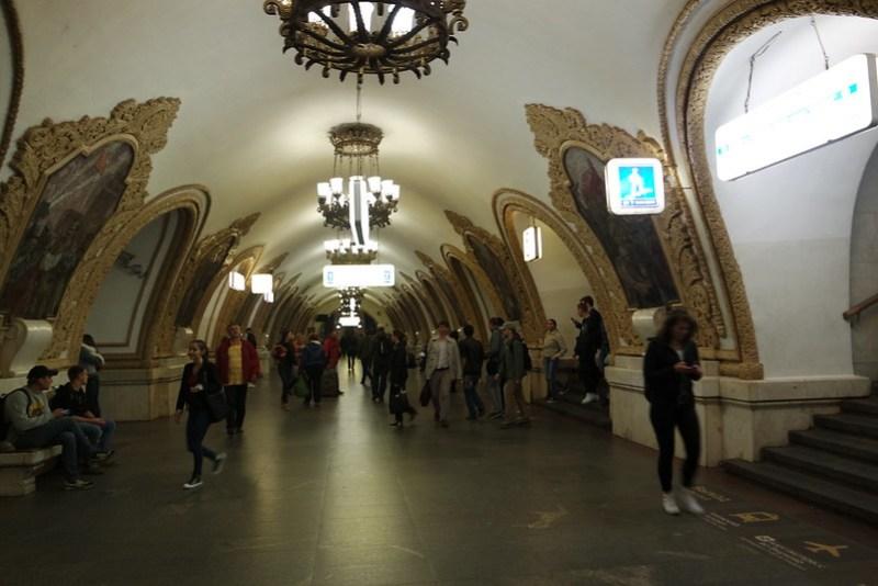 Qué ver en Moscú: el metro