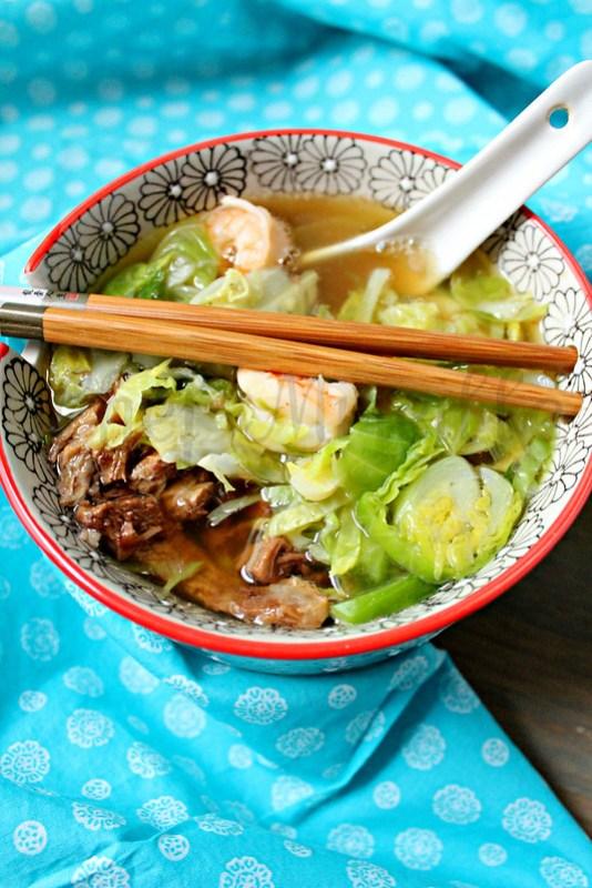 Hong Kong Noodle Soup Shrimp -edit